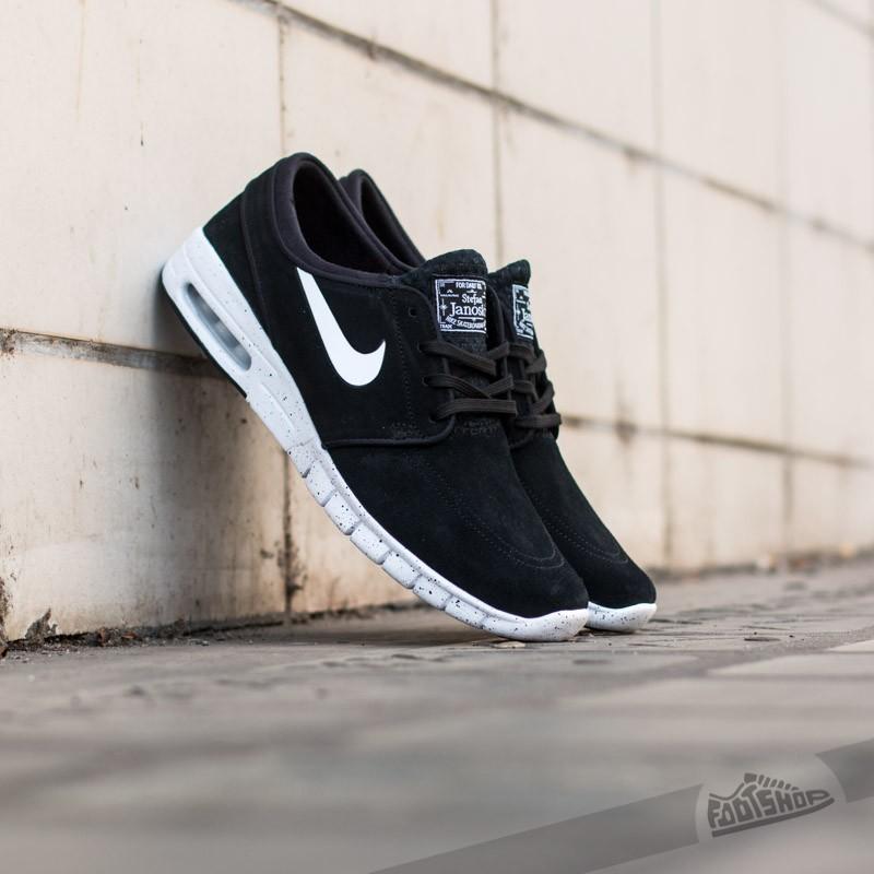 Nike Stefan Janoski Max L Black/White Footshop – FR