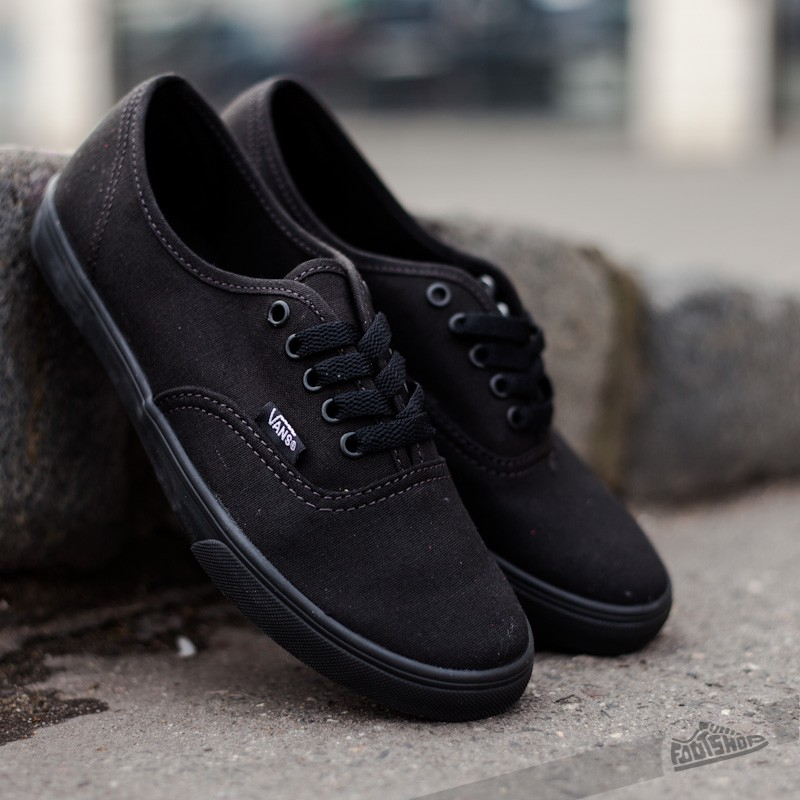 Vans Authentic Lo Pro Black/ Black Footshop – FR