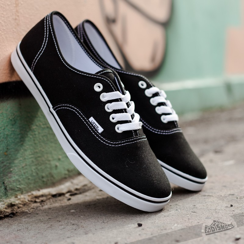 Vans Authentic Lo Pro Black/ True White Footshop – FR