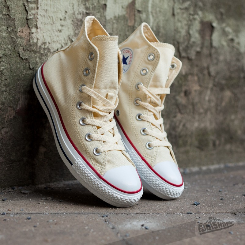 Converse All Star Hi Natural White Footshop – FR