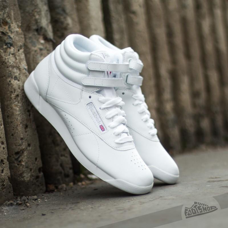 Reebok Classic Women F/S Hi White/Silver
