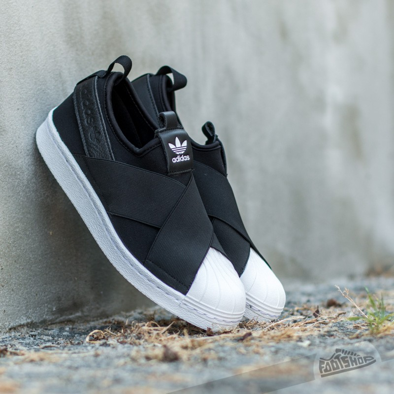 adidas Superstar Slip On W Black/ Ftw White