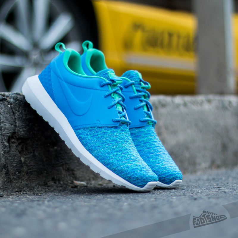 Nike Roshe NM Flyknit Premium Photo Blue/ Soar-Atomic Teal