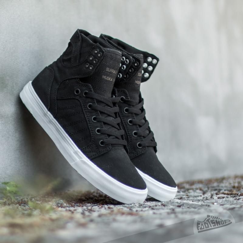 Supra Skytop D Black-White Footshop – FR