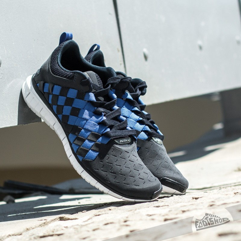Nike Free OG ´14 Woven Dark Obsidian/ White- Midnight Navy- Gym Royal Footshop – FR