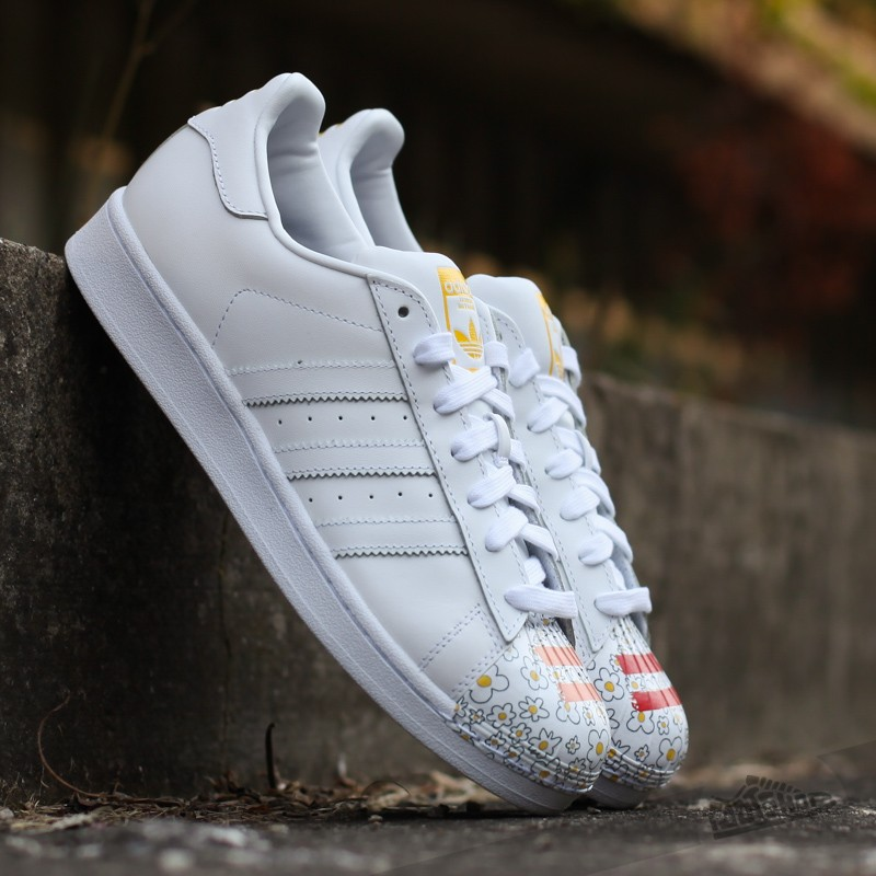 adidas Superstar Pharrell Supershell Ftw White/ Yellow