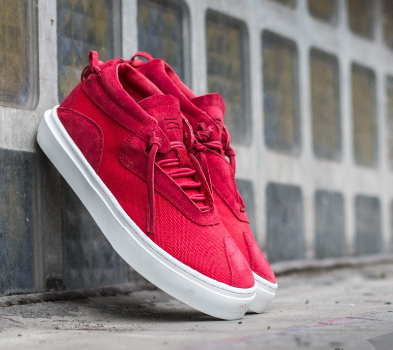 Clear Weather Everest Red Canvas/Suede Footshop – FR