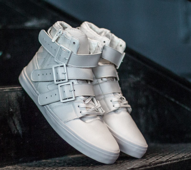 Radii Straight Jacket VLC Triple White Waxed Pebble Leather