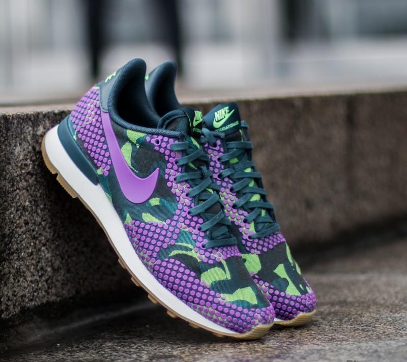 Nike W Internationalist JCRD PRM Teal/Vivid Purple-Ghost Green