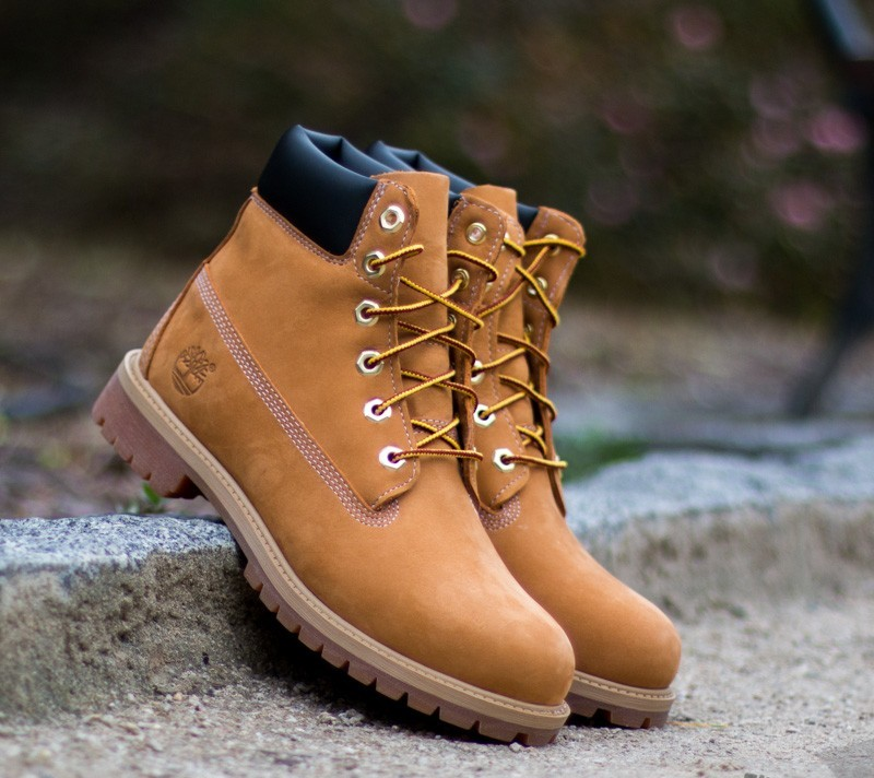 Timberland 6 in Premium Wheat Nubuc Yellow Footshop – FR