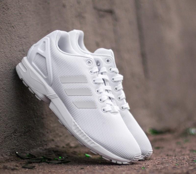 adidas ZX FLUX K Ftw White/ Ftw White/ Ftw White Footshop – FR