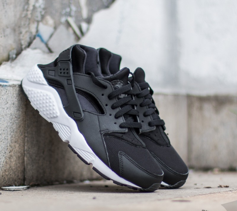 Nike Huarache Run (GS) Black/ White