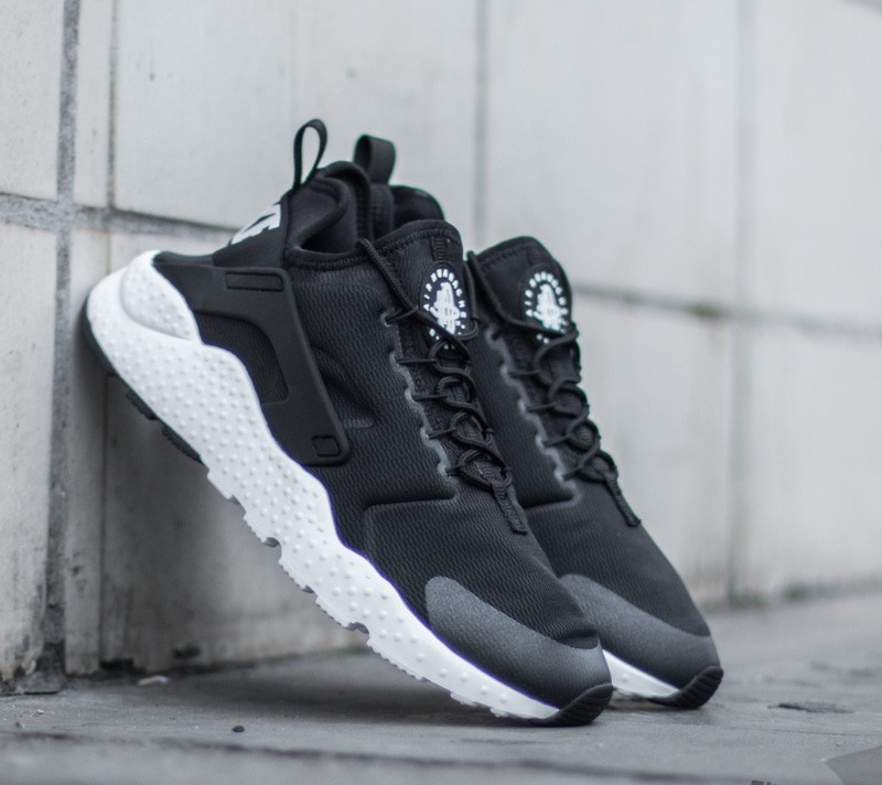 Nike Wmns Air Huarache Run Ultra Black/ White