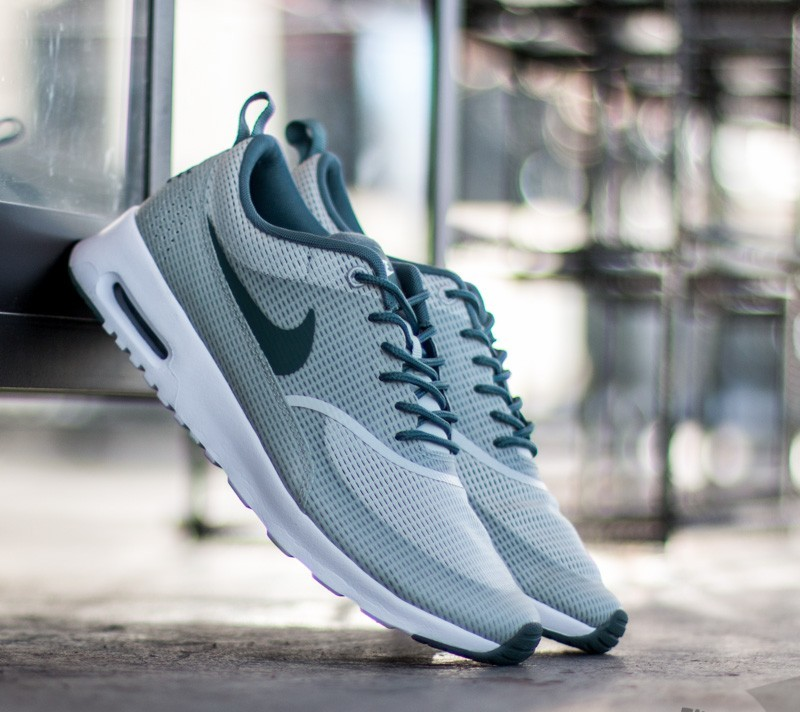Nike W Air Max Thea Txt Light Silver/ Hasta- White
