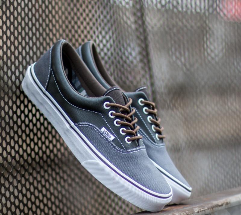Vans Era Leather Plaid Asphalt/ Beluga Footshop – FR
