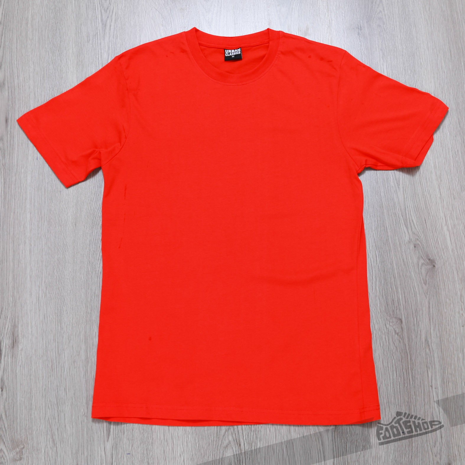 Urban Classics Basic Tee Red Footshop – FR
