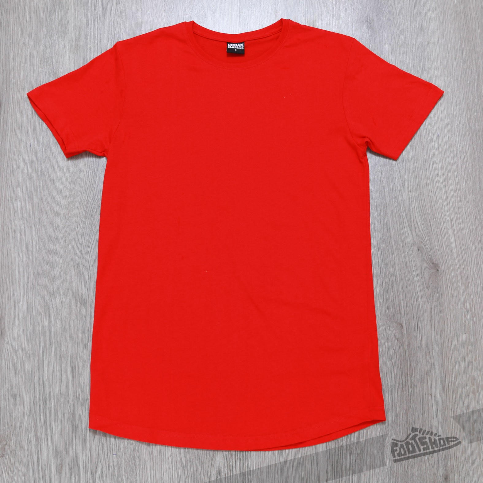 Urban Classics Shaped Long Tee Fire Red