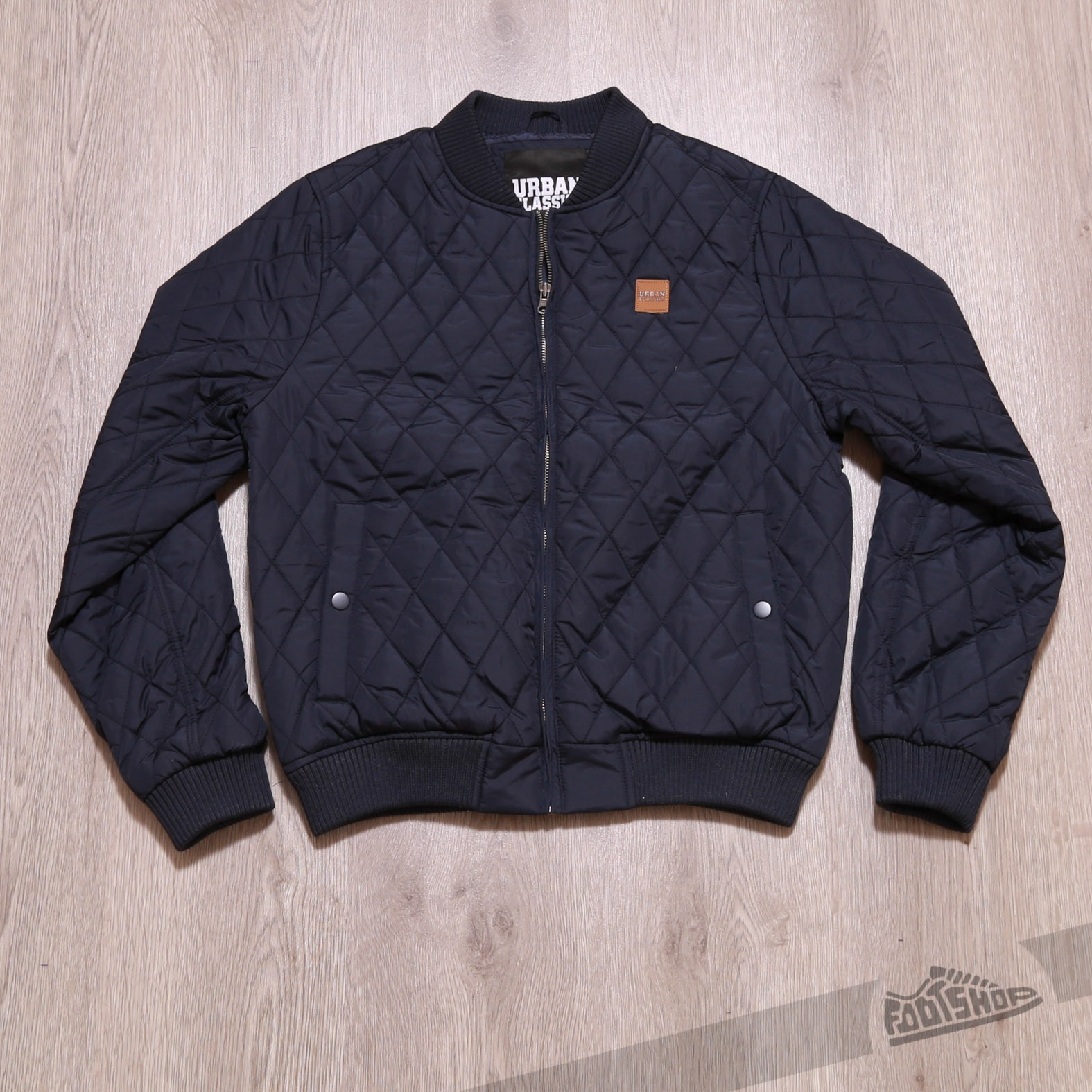 Urban Classics Diamond Quilt Nylon Jacket Navy Footshop – FR