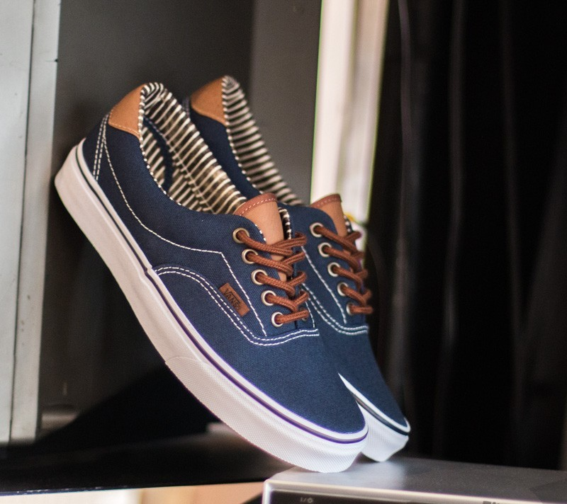 Vans Era 59 Vans C&L Dress Blue/ Stripe Denim Footshop – FR