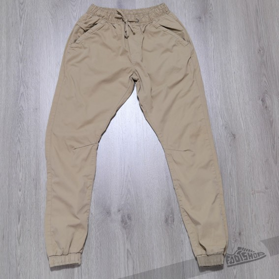 Urban Classics Twill Jogging Pants Beige