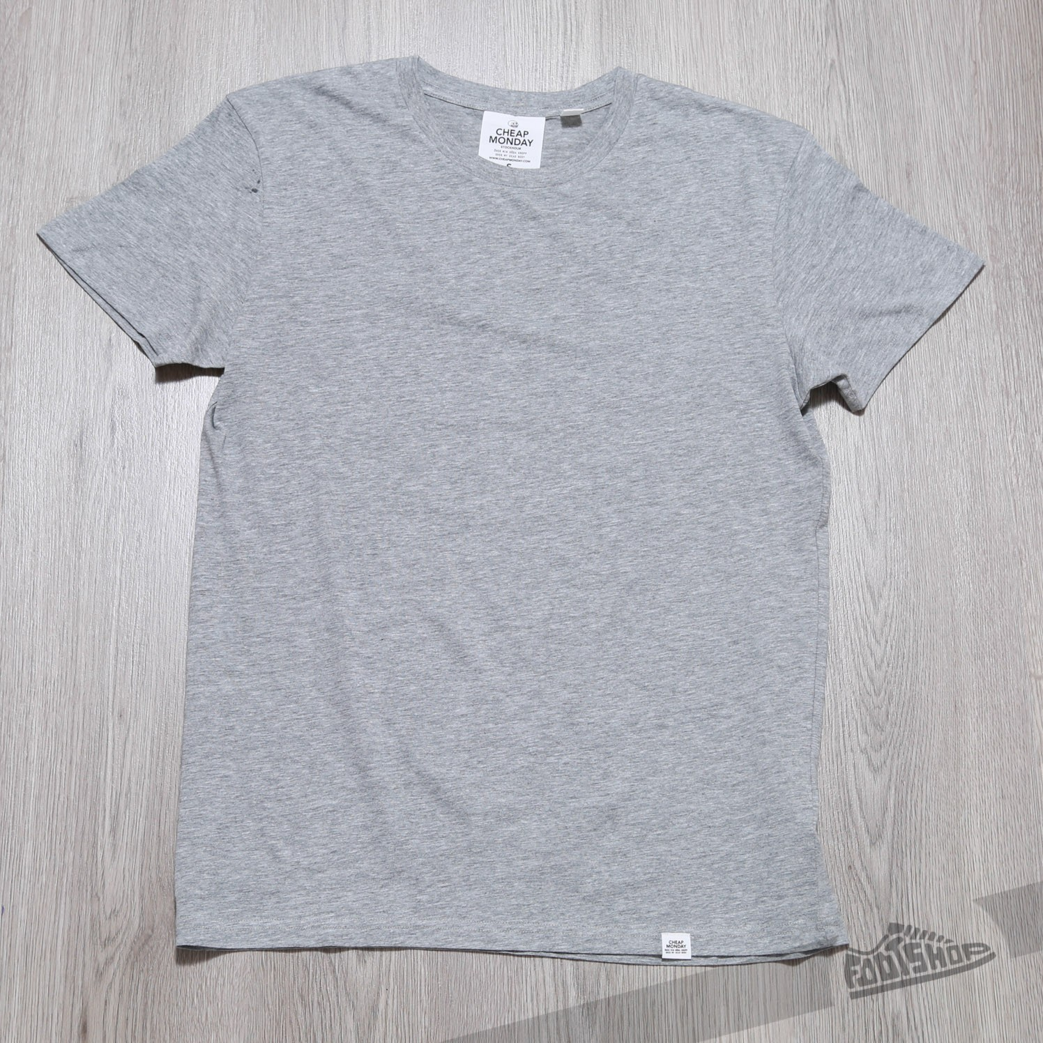 Cheap Monday Standard Tee Grey Melange Footshop – FR