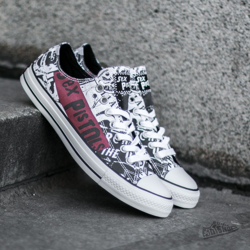 Converse CT All Star Ox White/ Black