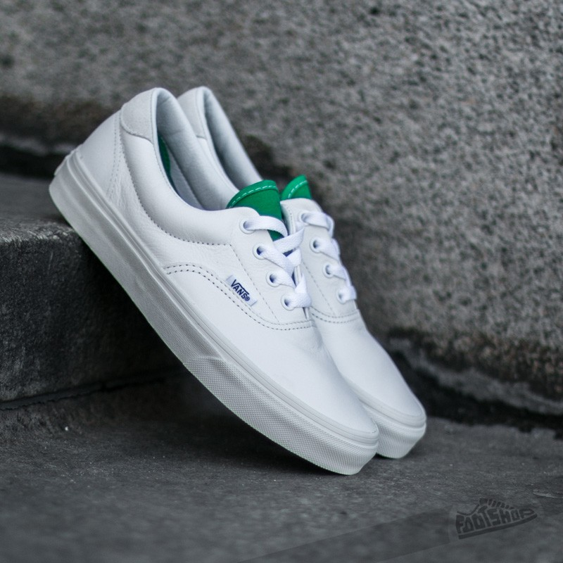 Vans Era 59 (Vintage Sport) True White/ Kelly Green