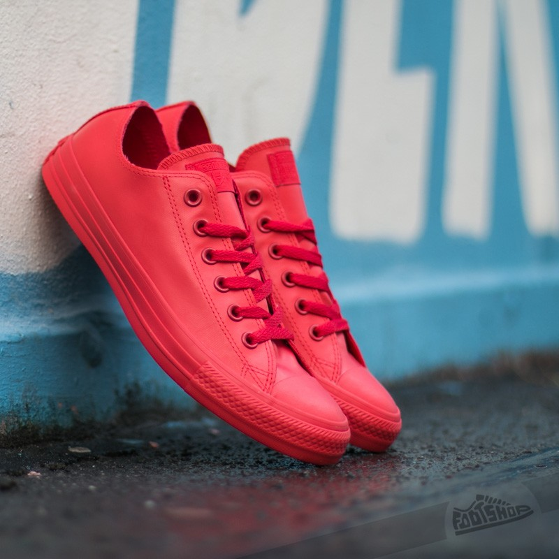 Converse Chuck Taylor All Star Rubber Ox Red/Red/Red Footshop – FR