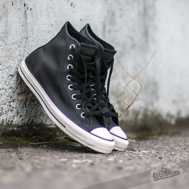 Converse CT All Star High Black/ Black Footshop – FR