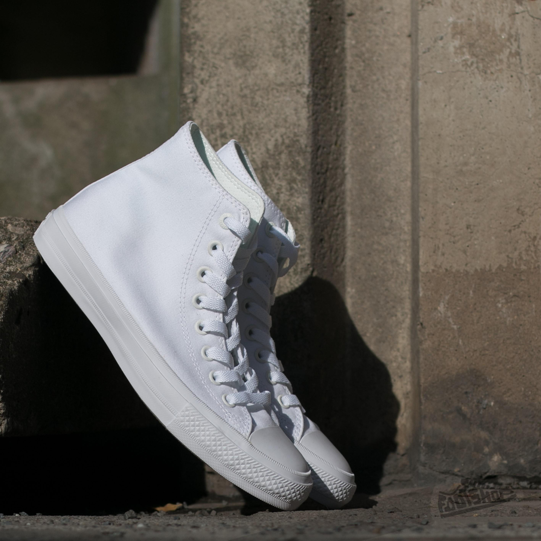 Converse CT II Hi White/ White Footshop – FR