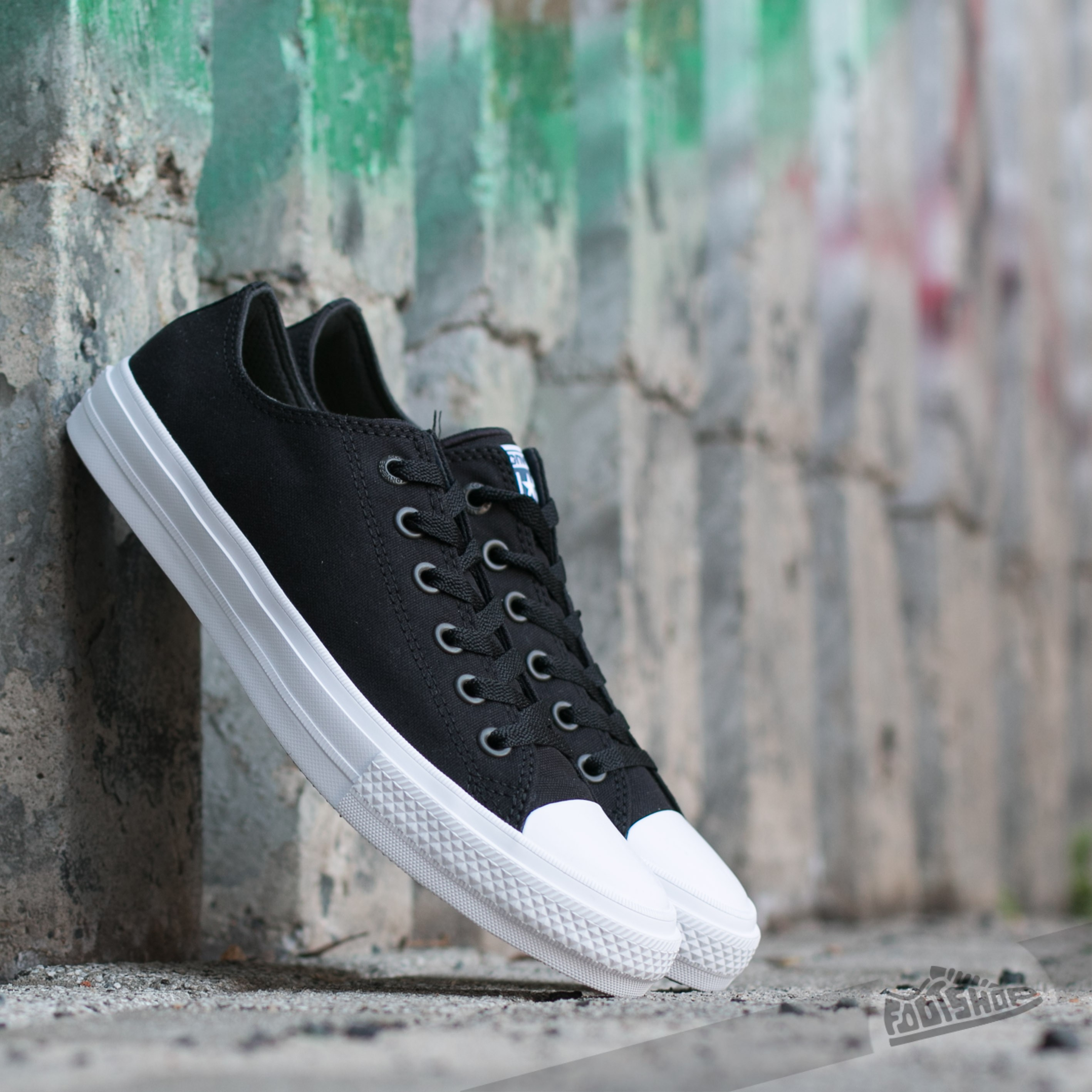 Converse CT II Ox Black/ White Footshop – FR