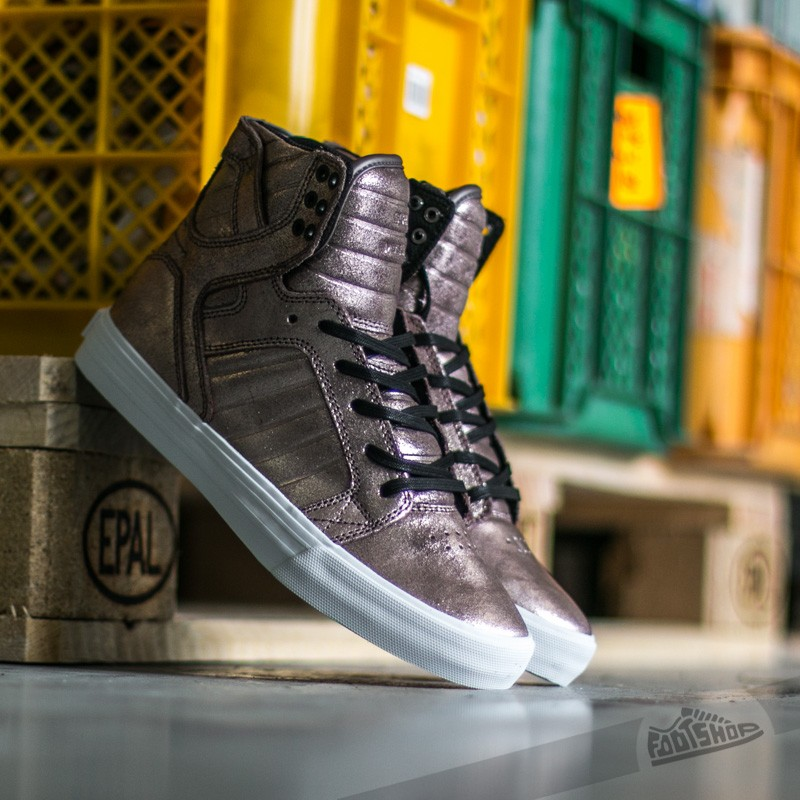Supra Skytop Rose Gold Metalic-White