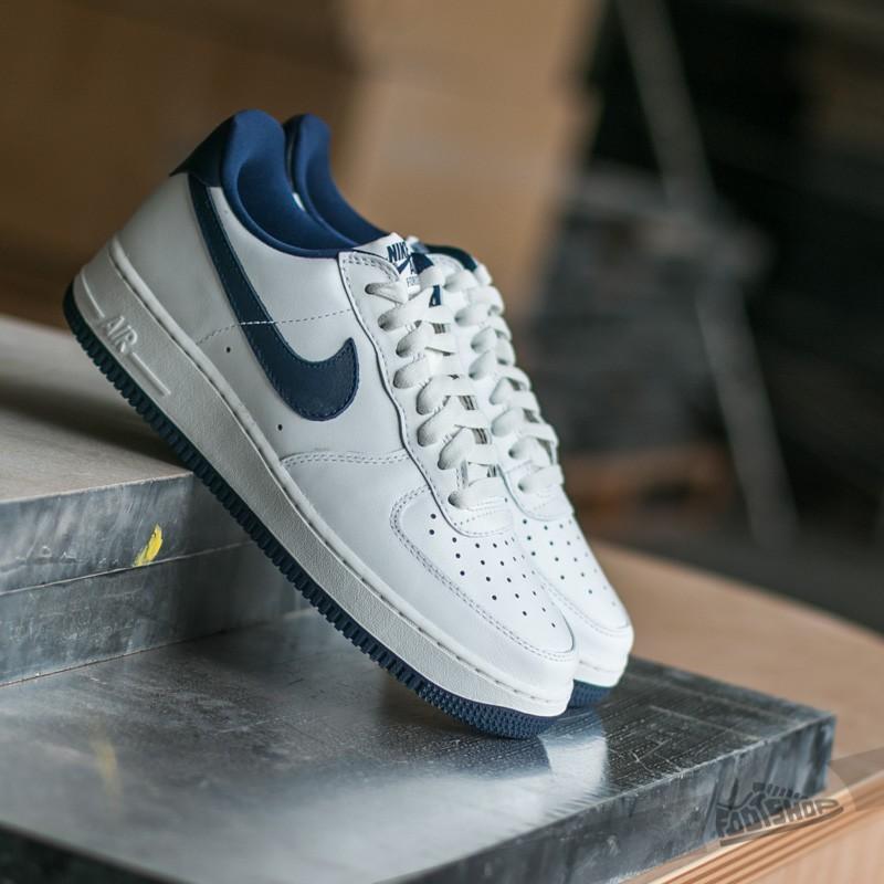 Nike Air Force 1 Low Nai KE QS Summit White/ Midnight Navy