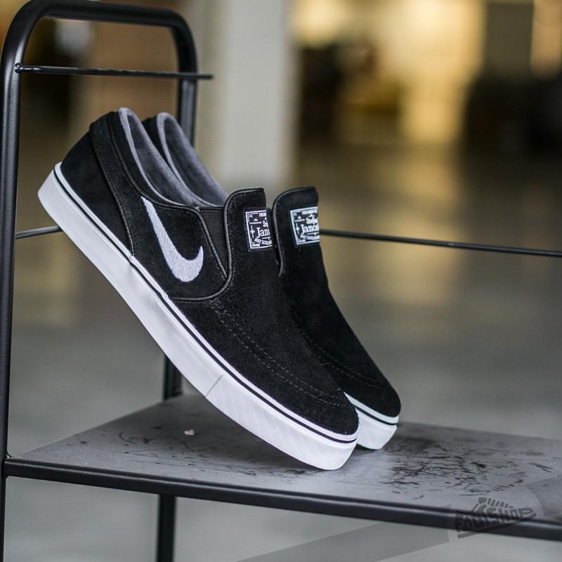 Nike Zoom Stefan Janoski Slip Black/ White Footshop – FR