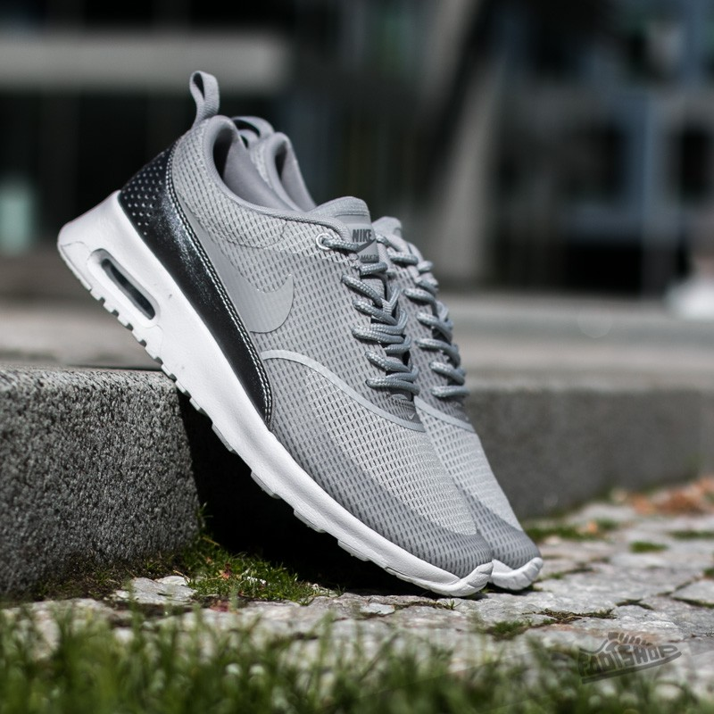 W Nike Air Max Thea Txt Wolf Grey/ Wolf Grey-White-Metalic Cool Grey Footshop – FR