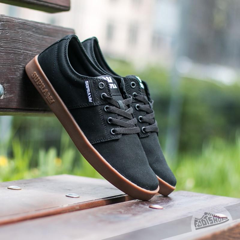 Supra Stacks II Black-Gum Footshop – FR