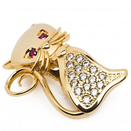 Shoeclipper Perfect Kat-ching Gold