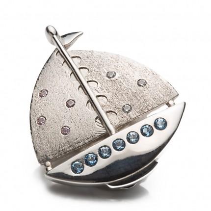 Shoeclipper Boatiful Twinkle Silver