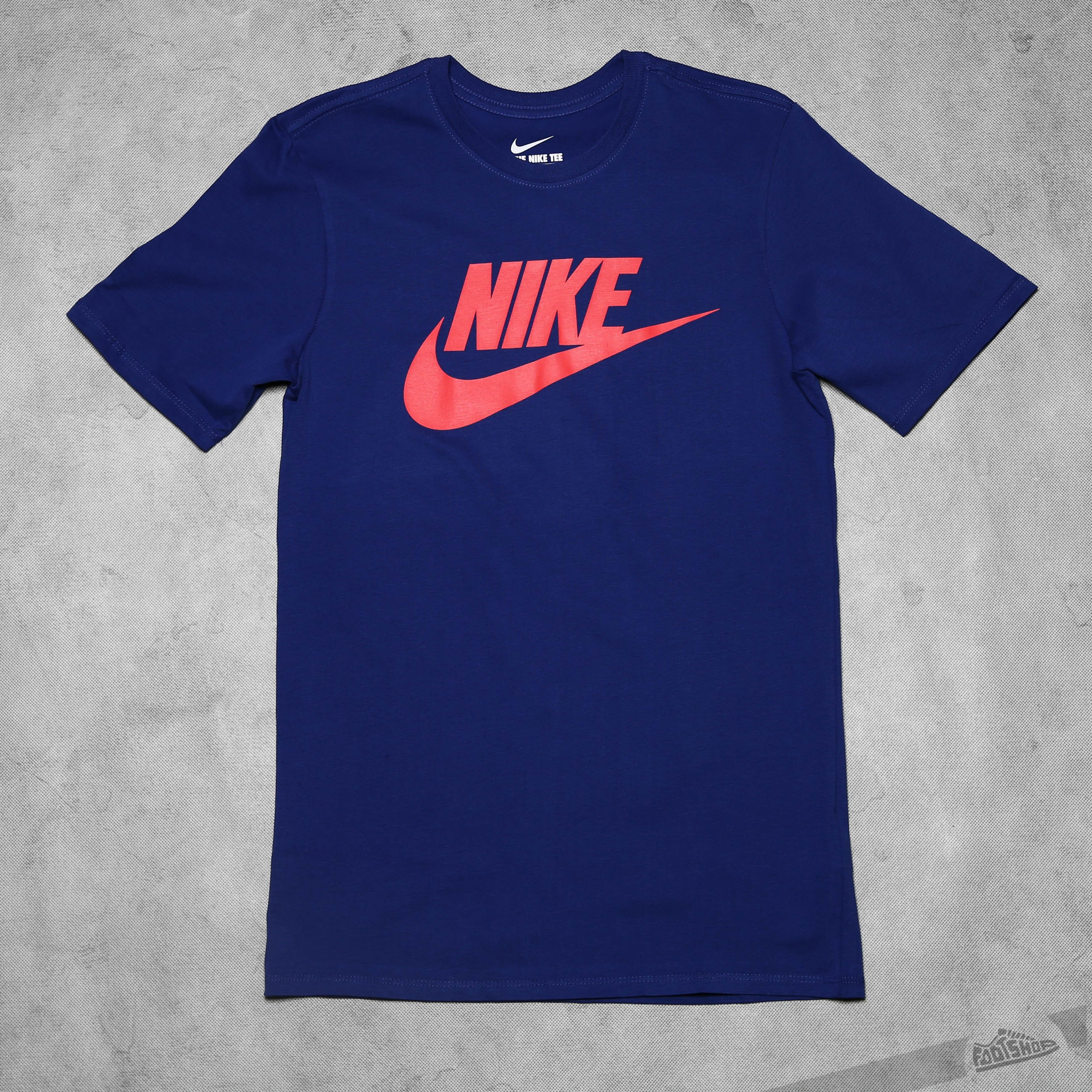 Nike Futura Icon Tee Blue Footshop – FR
