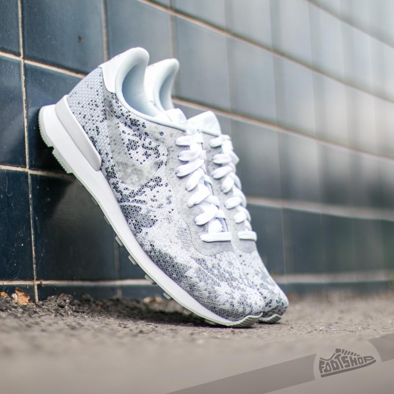 Nike Internationalist JCRD QS White/ Metalic Platinum-Pure Platinum-Cool Grey Footshop – FR