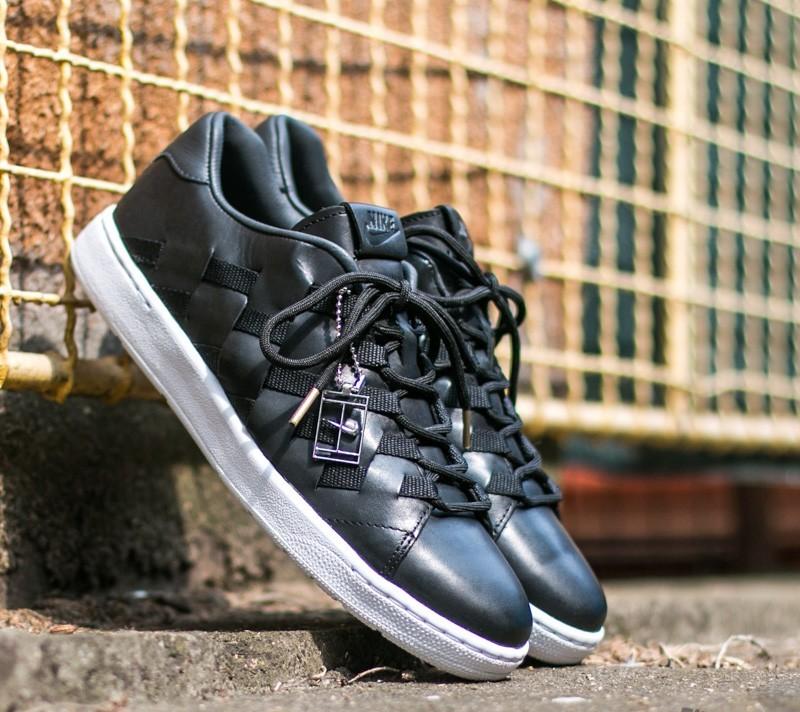 Nike Tennis Classic Ultra Premium QS 'Woven Pack' Black/ Black-Anthracite-White