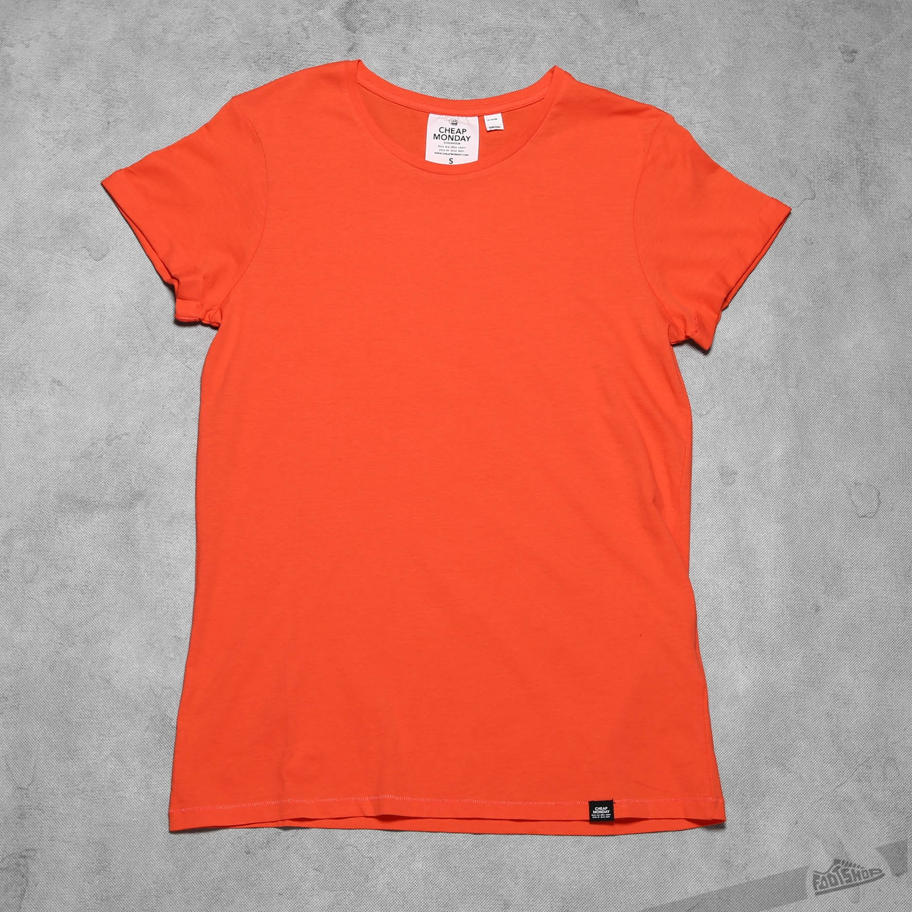Cheap Monday Cap Roll Tee Coral Footshop – FR