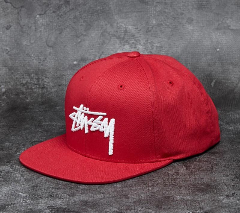 Stüssy Stock SP16 Cap Red