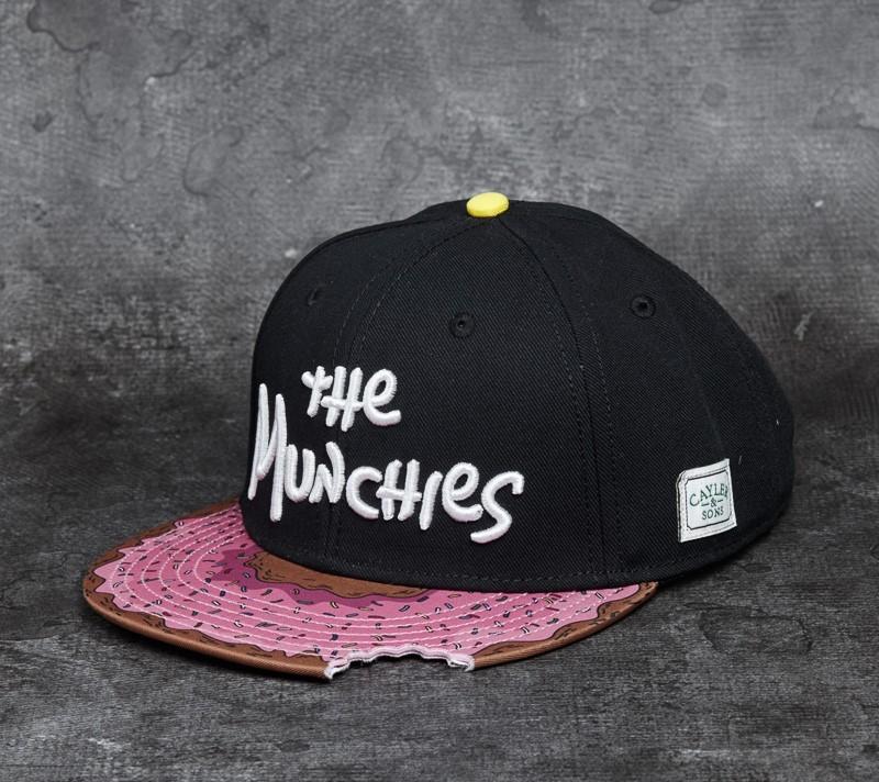Cayler & Sons GL Munchies Classic Cap Black/ Pink Donut