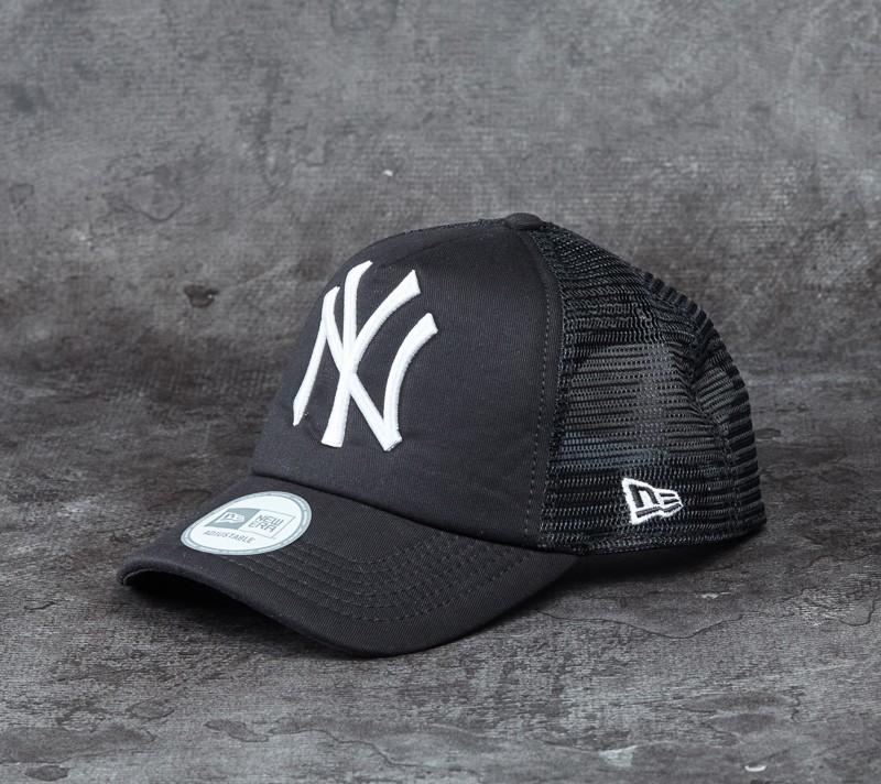 New Era Adjustable Major League Baseball Black/ White
