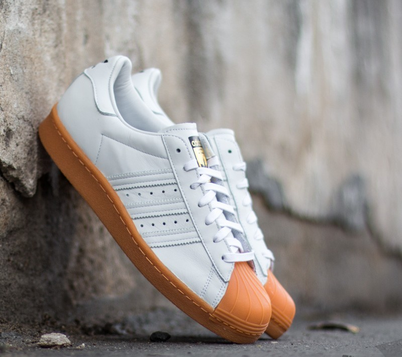 adidas Superstar 80's Deluxe Ftw White/ Ftw White/ Gold Metalic