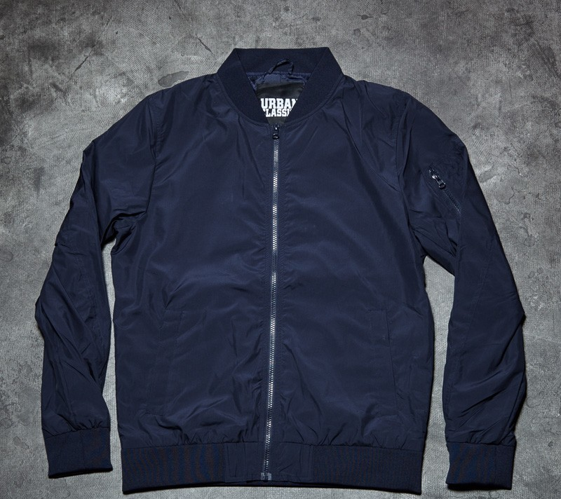 Urban Classics Light Bomber Jacket Navy Footshop – FR