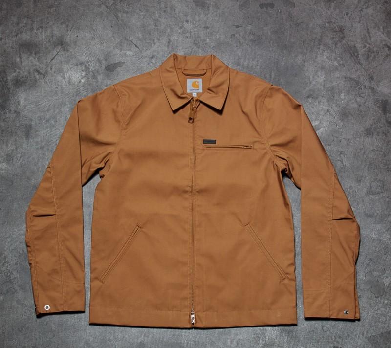Carhartt WIP Detroit Jacket Hamilton Brown