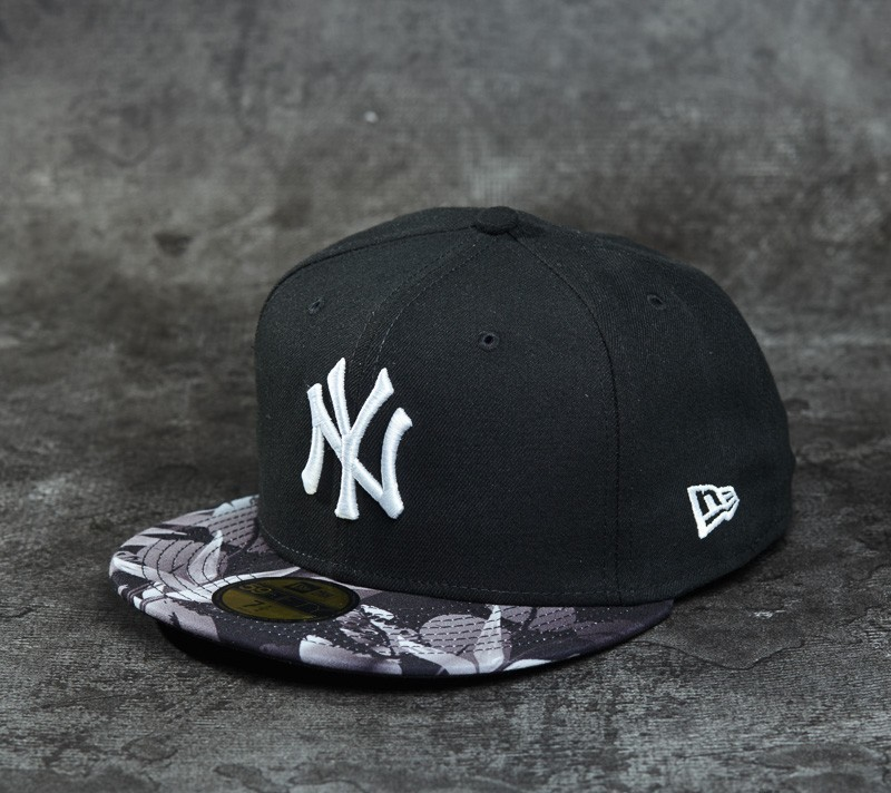 New Era 59Fifty Birds of Paradise New York Yankees Black/ Grey/ White Footshop – FR