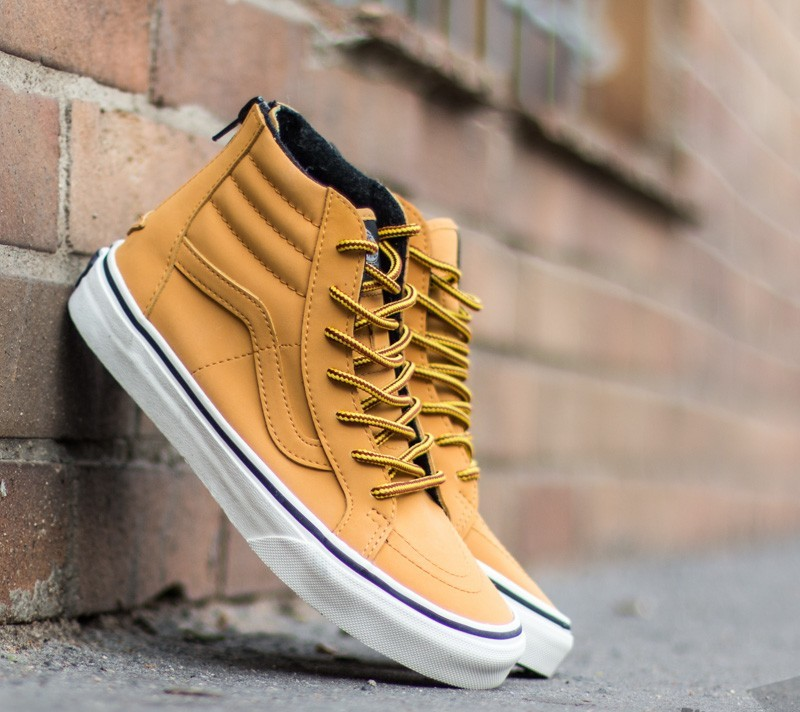 Vans Sk8-Hi (MTE) Honey/ Leather
